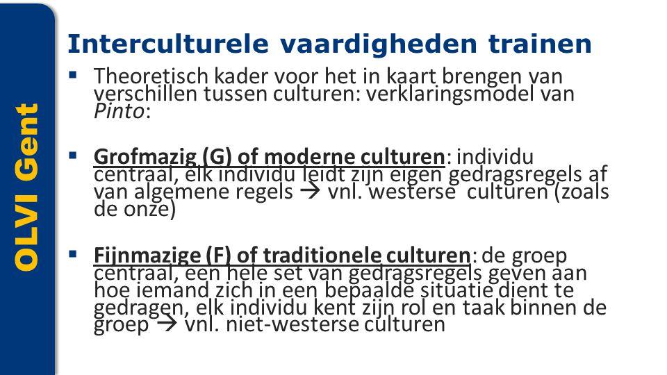 OLVI Gent Interculturele vaardigheden trainen