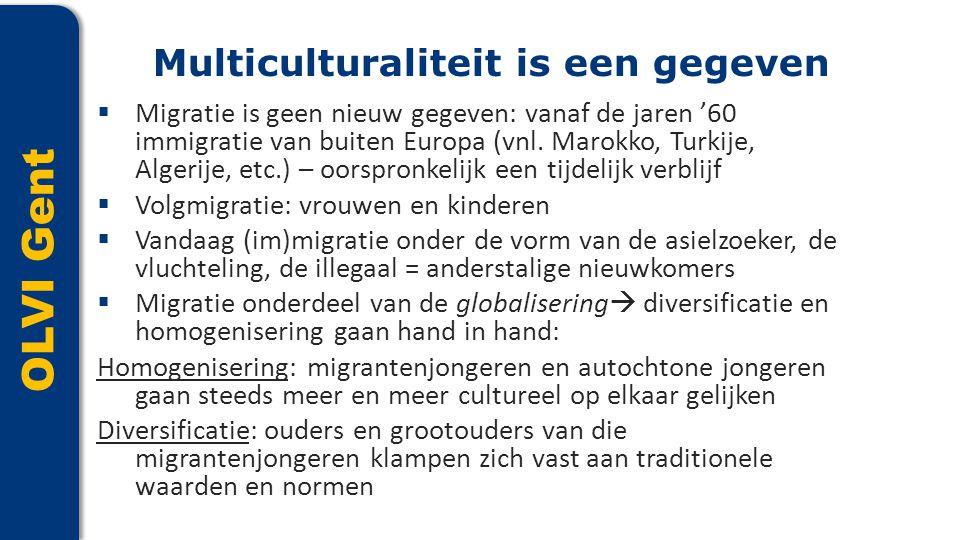 Multiculturaliteit is een gegeven