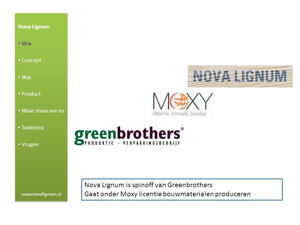 Nova Lignum is spinoff van Greenbrothers