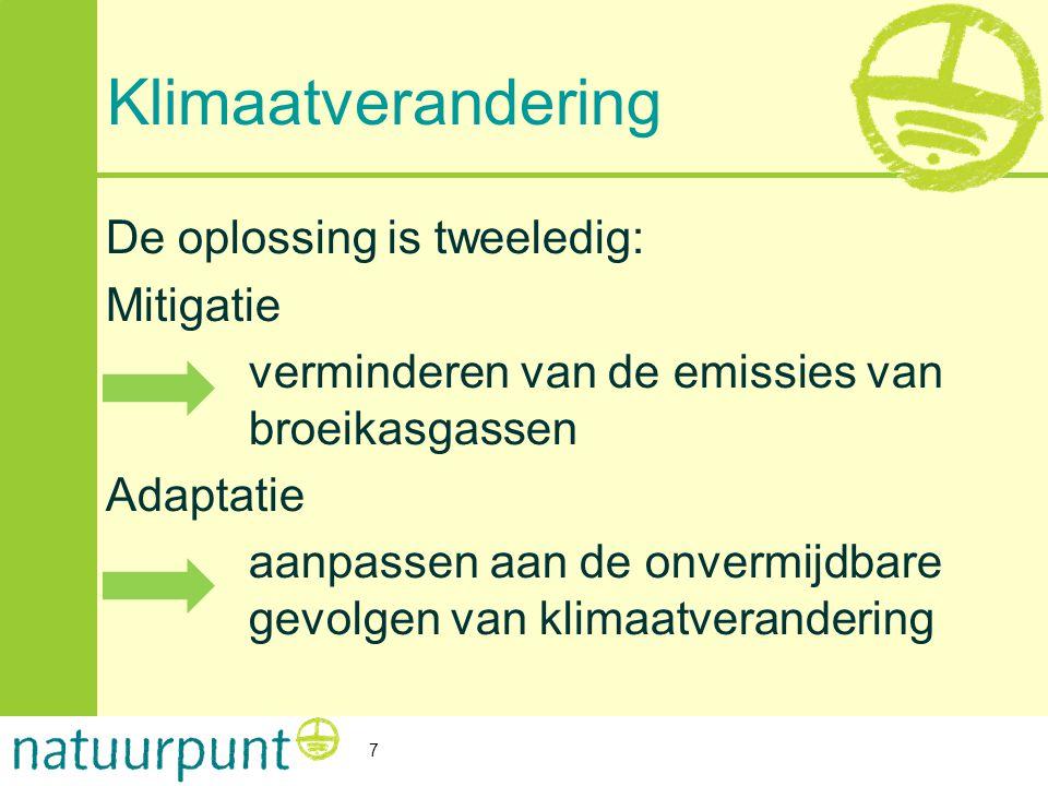Neem de mensen mee: Les 3 Klimaatverandering.
