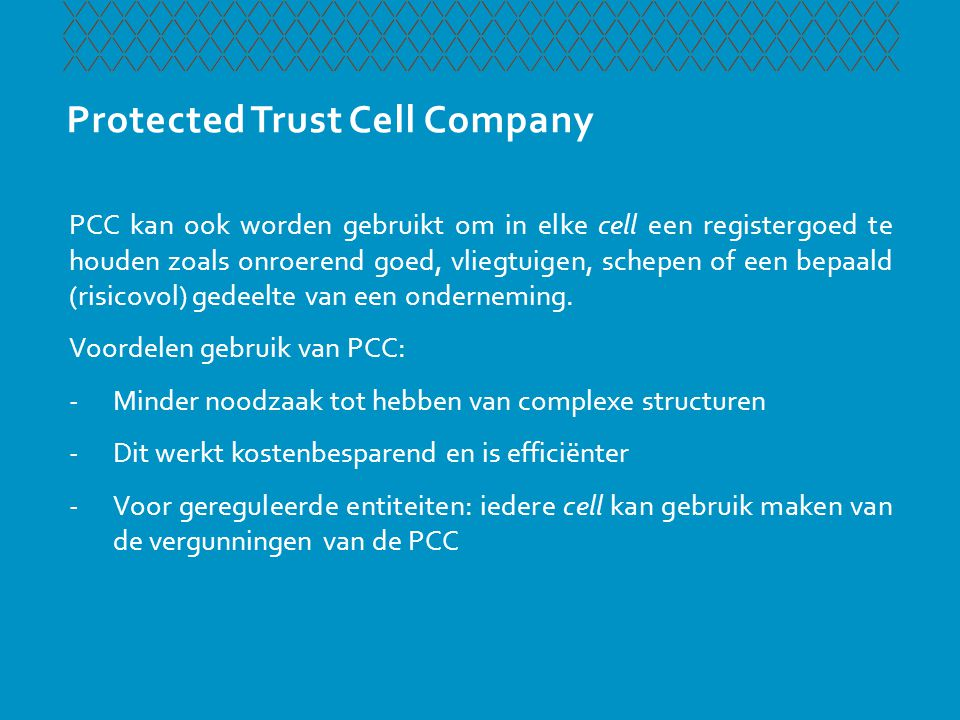 Protected Trust Cell Company