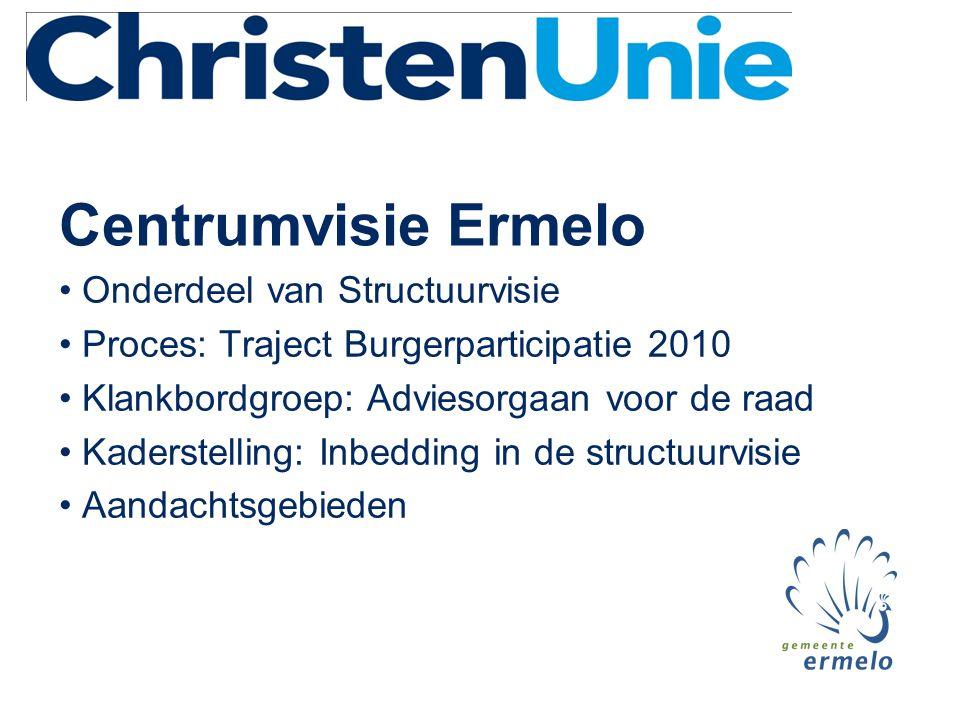 Centrumvisie Ermelo Onderdeel van Structuurvisie