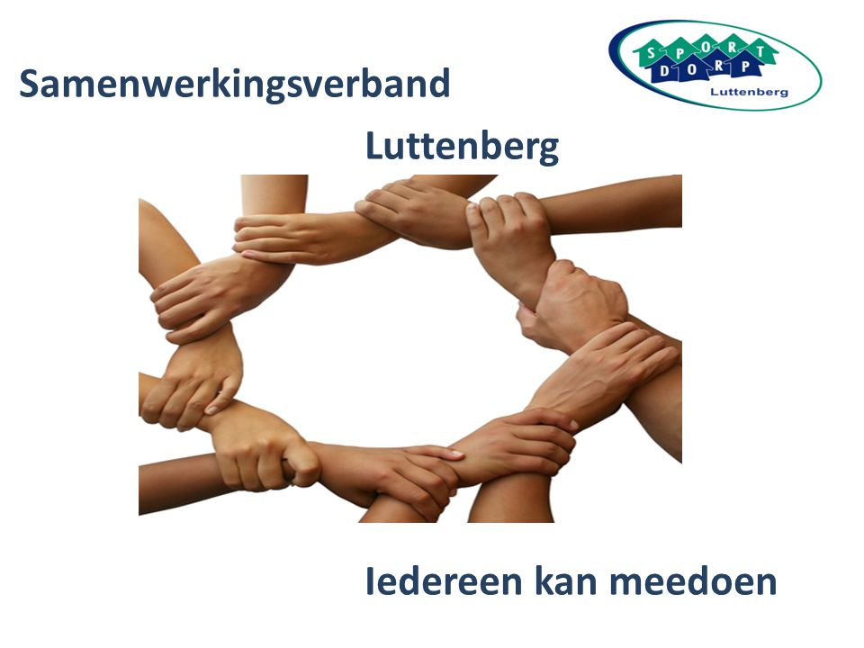 Samenwerkingsverband Luttenberg Iedereen kan meedoen