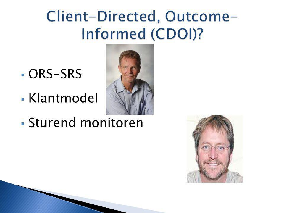 Client-Directed, Outcome-Informed (CDOI)