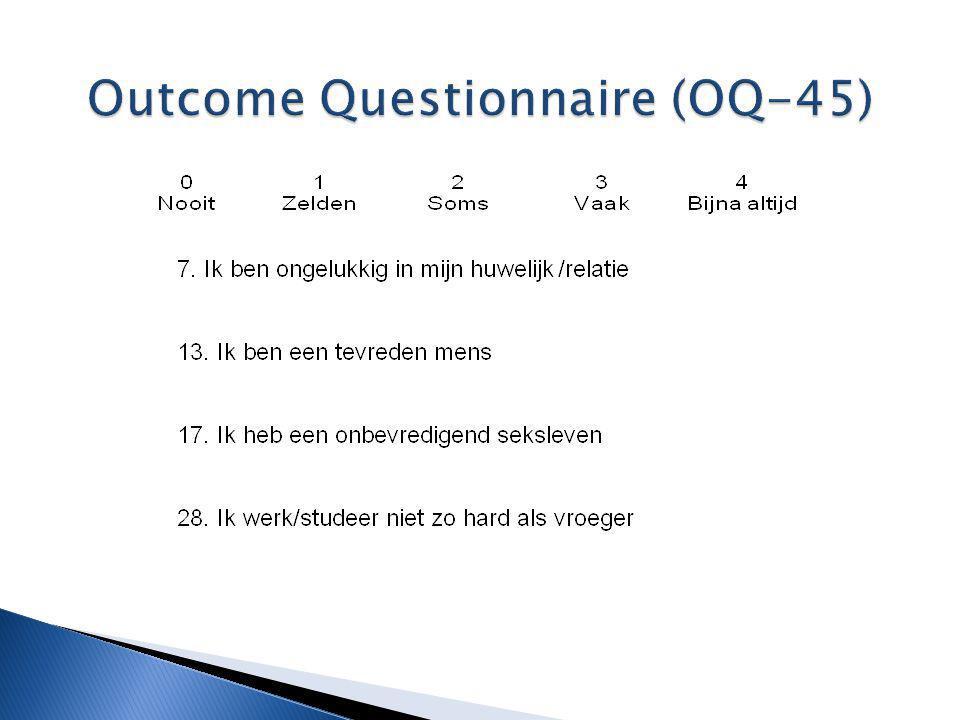 Outcome Questionnaire (OQ-45)