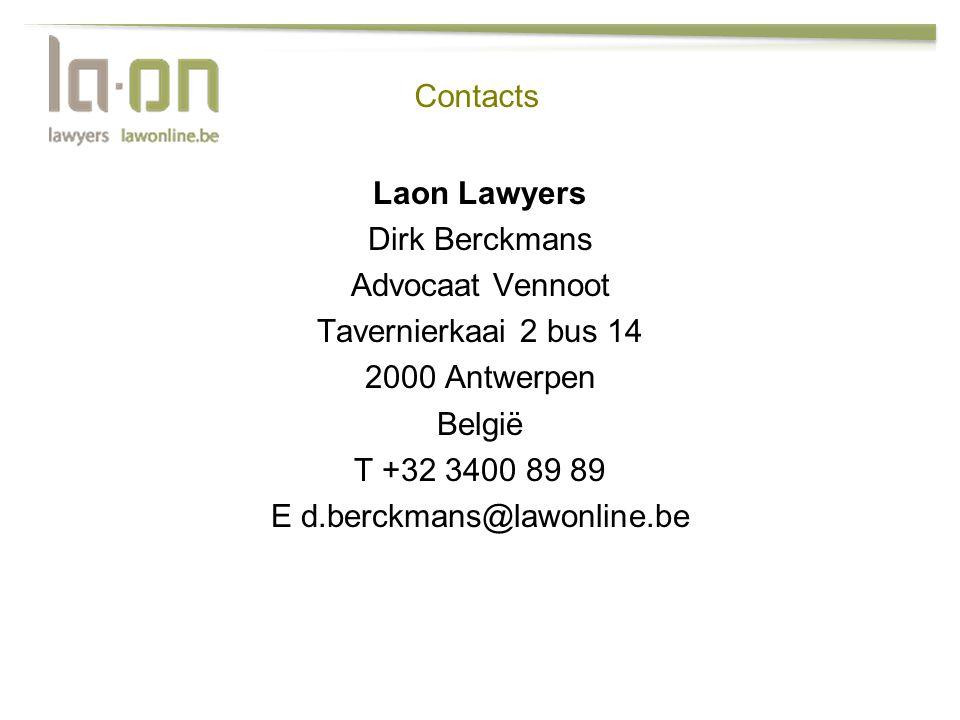 E d.berckmans@lawonline.be