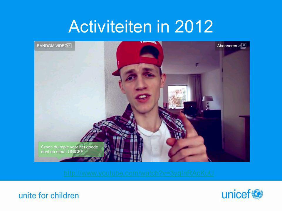 Activiteiten in 2012 http://www.youtube.com/watch v=3ygInRAcKuU