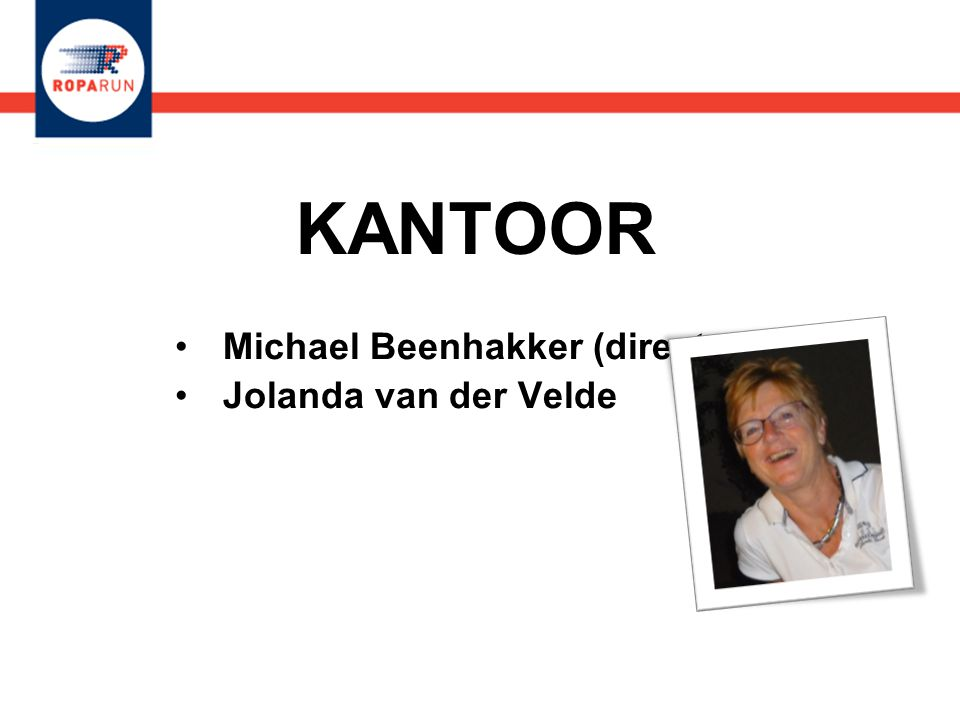 Michael Beenhakker (directeur) Jolanda van der Velde