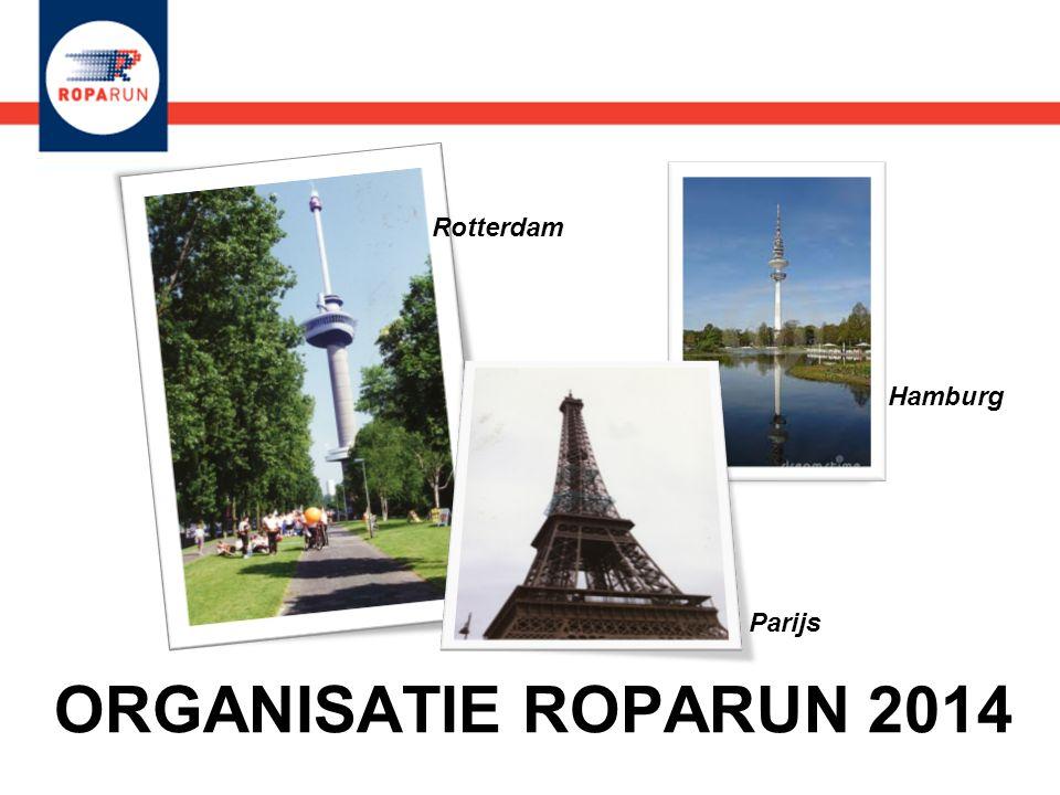 Rotterdam Hamburg Parijs ORGANISATIE ROPARUN 2014