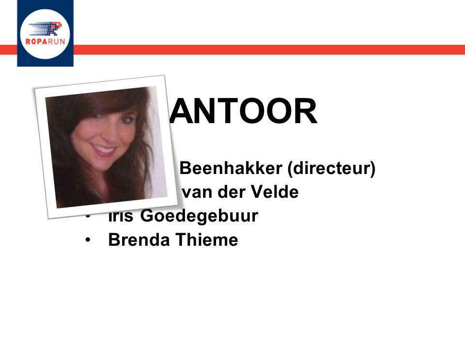 KANTOOR Michael Beenhakker (directeur) Jolanda van der Velde