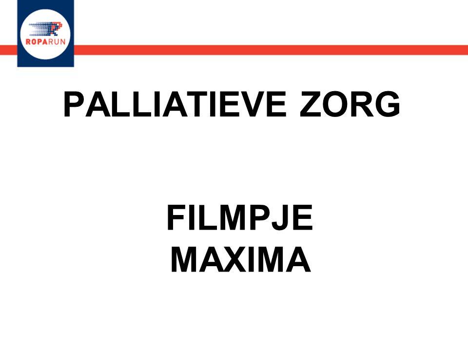 PALLIATIEVE ZORG FILMPJE MAXIMA