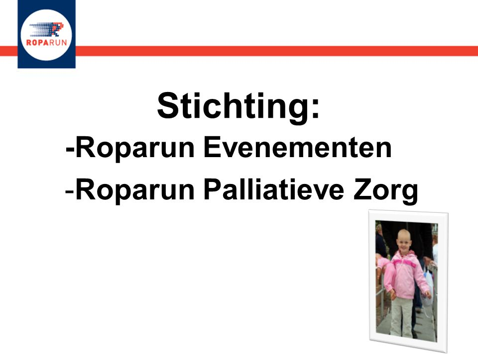 -Roparun Evenementen Roparun Palliatieve Zorg