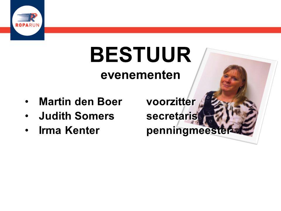BESTUUR evenementen Martin den Boer voorzitter