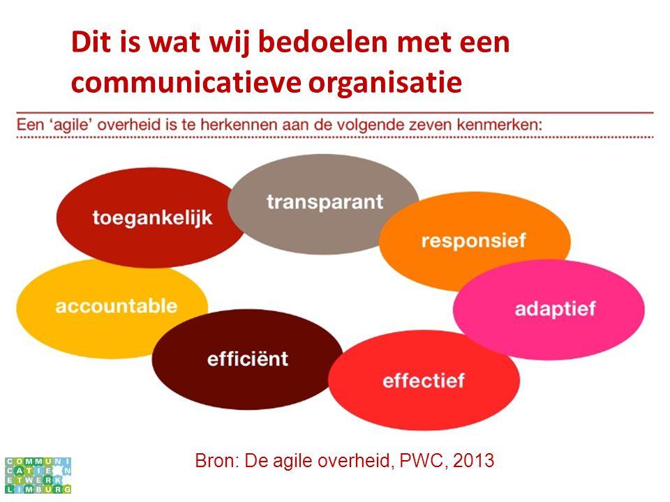 Dit is wat wij bedoelen met een communicatieve organisatie