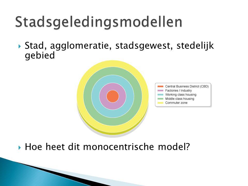 Stadsgeledingsmodellen