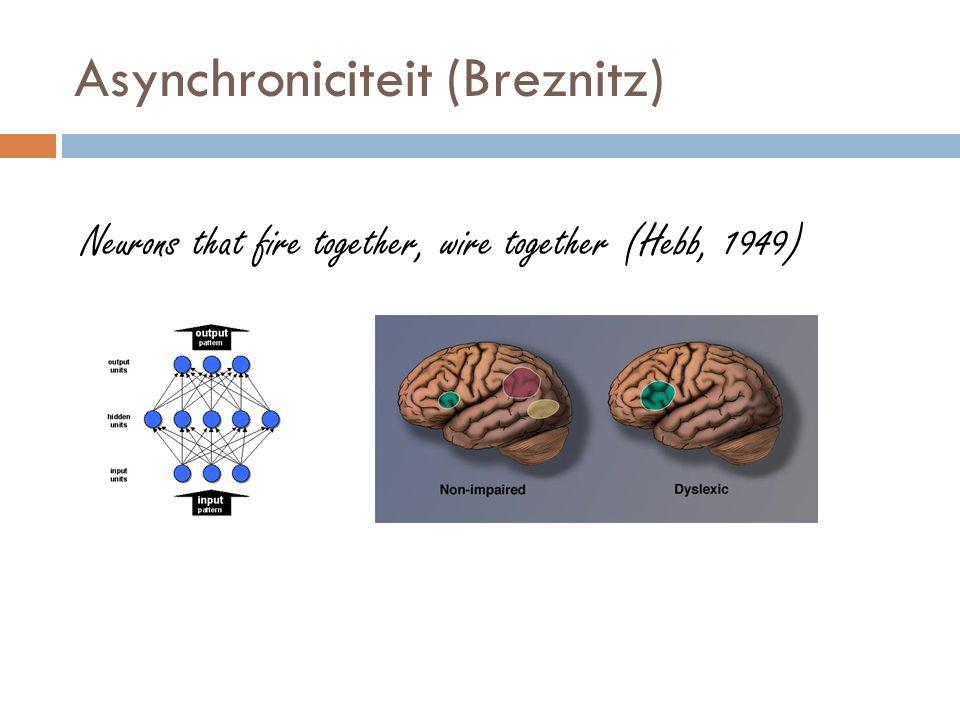 Asynchroniciteit (Breznitz)