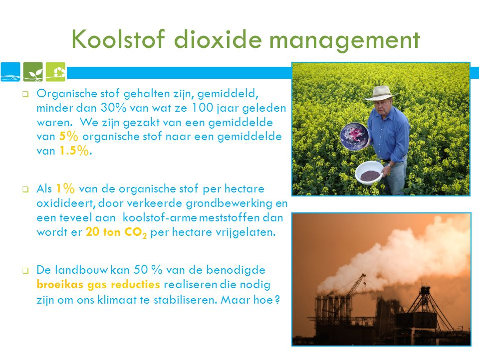 Koolstof dioxide management