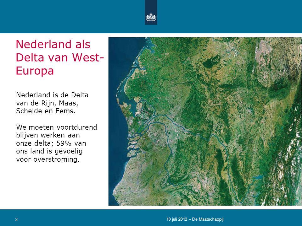 Nederland als Delta van West-Europa