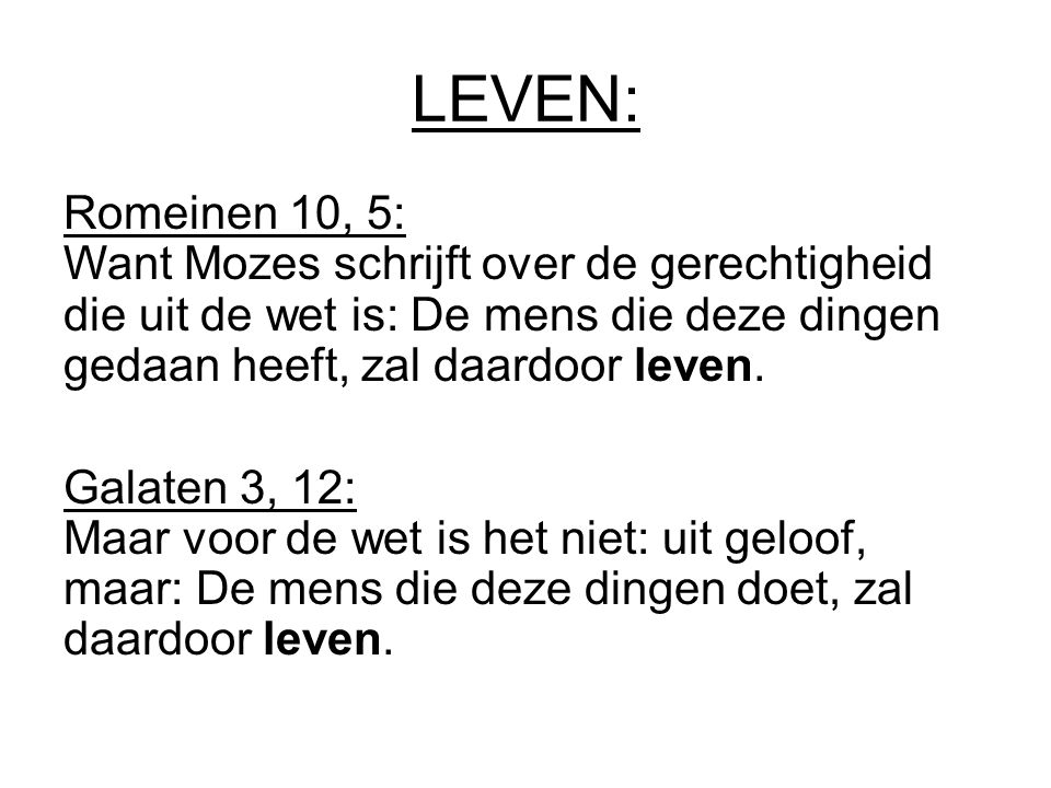 LEVEN: