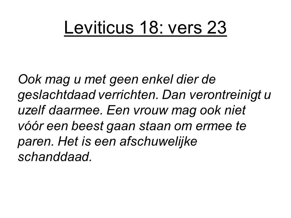 Leviticus 18: vers 23