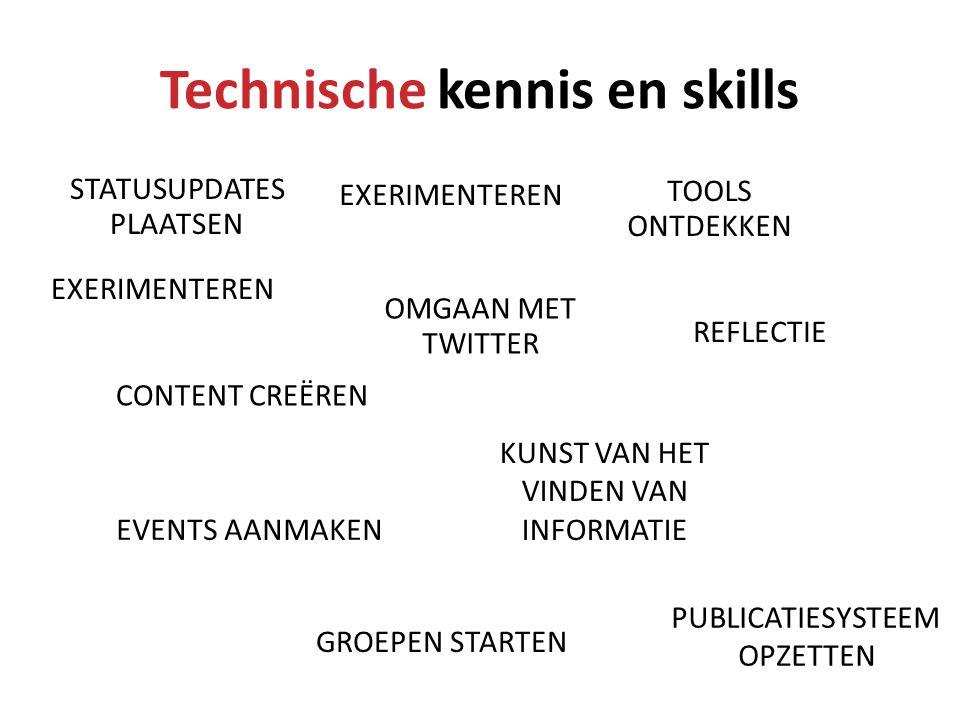 Technische kennis en skills