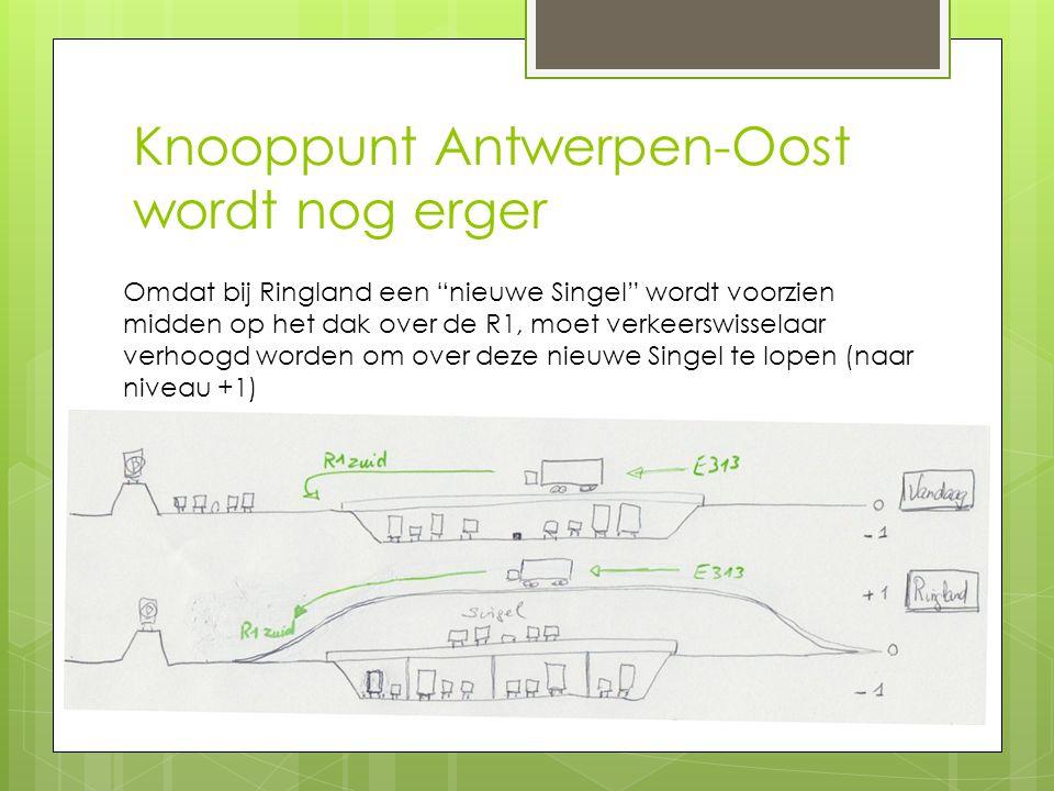 Knooppunt Antwerpen-Oost wordt nog erger