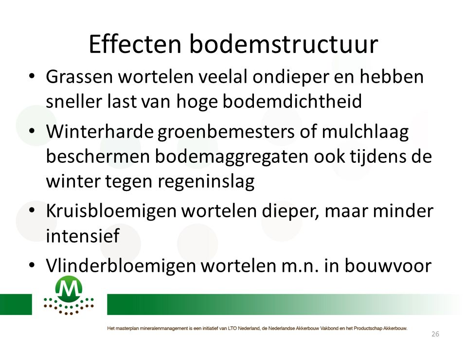 Effecten bodemstructuur