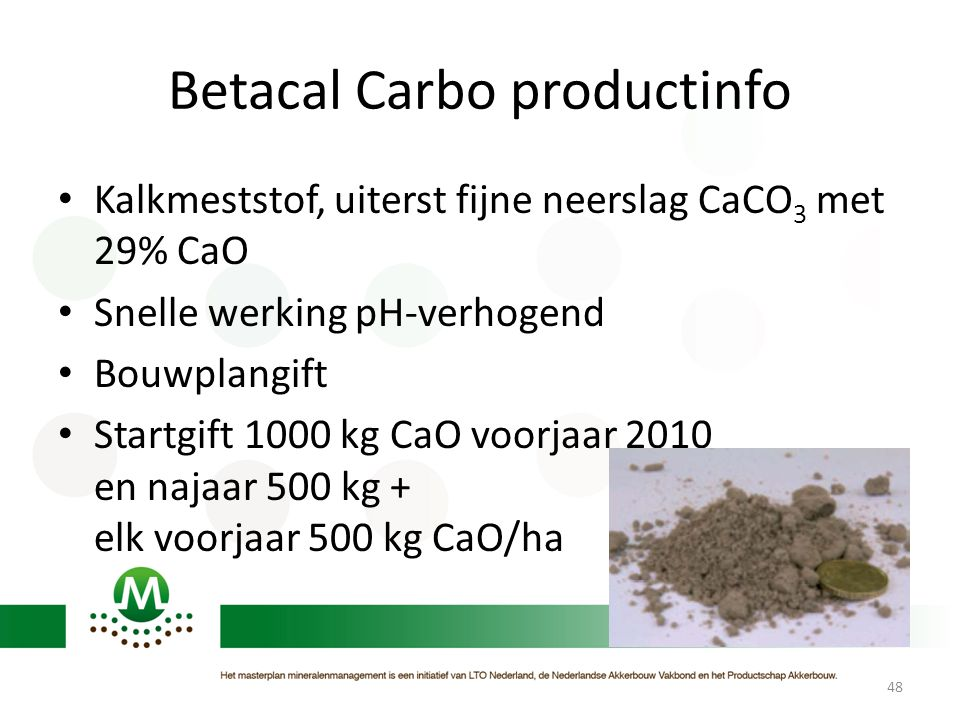 Betacal Carbo productinfo