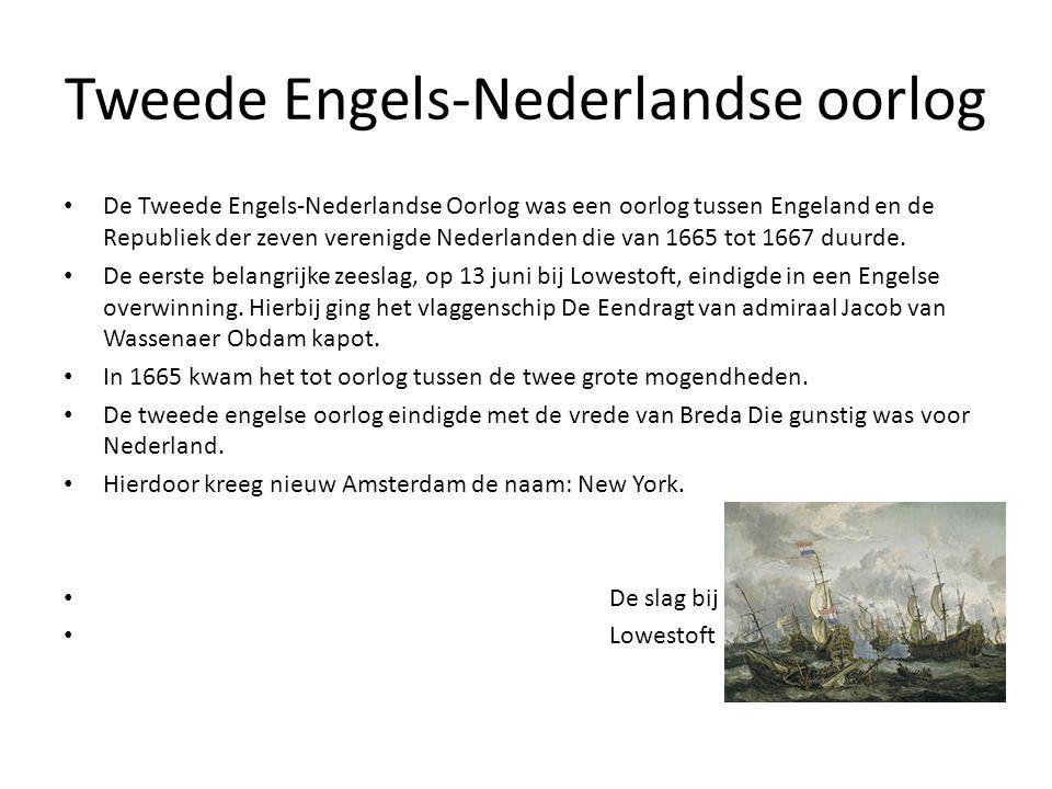 Tweede Engels-Nederlandse oorlog
