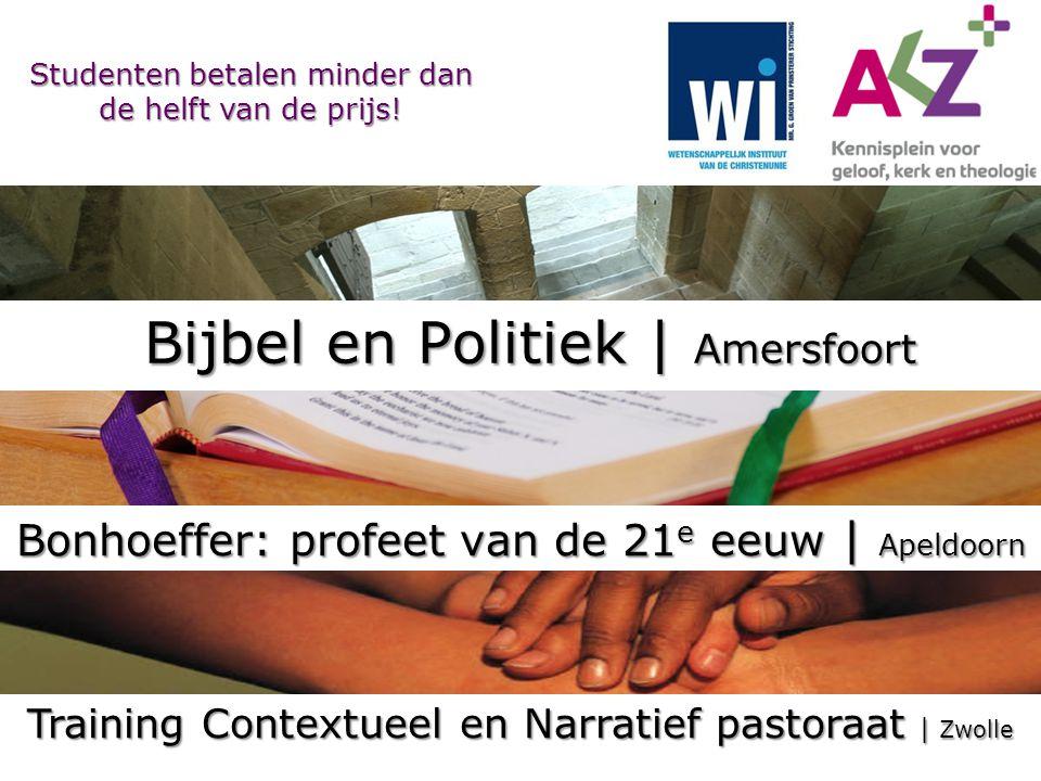 Bonhoeffer: profeet van de 21e eeuw | Apeldoorn