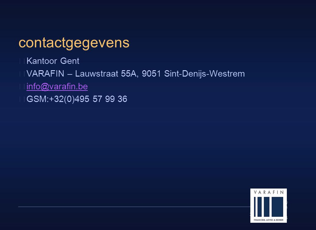 contactgegevens Kantoor Gent