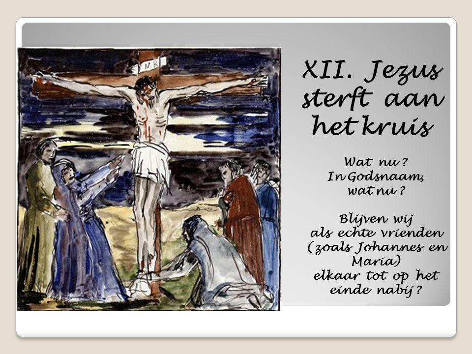 XII. Jezus sterft aan het kruis