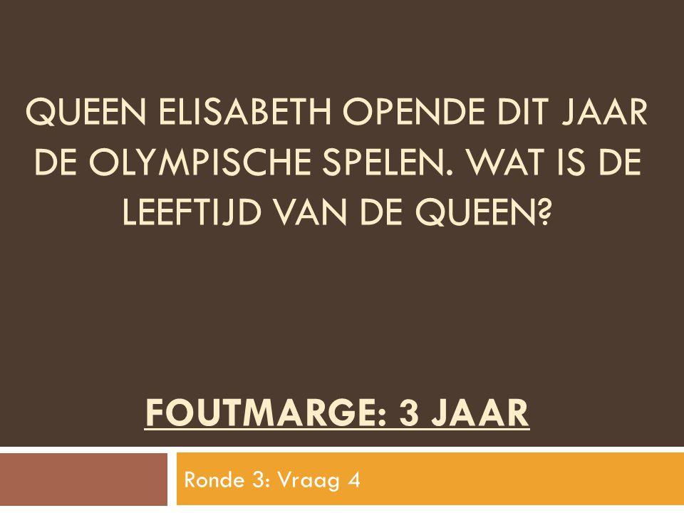 Queen elisabeth opende dit jaar de olympische spelen