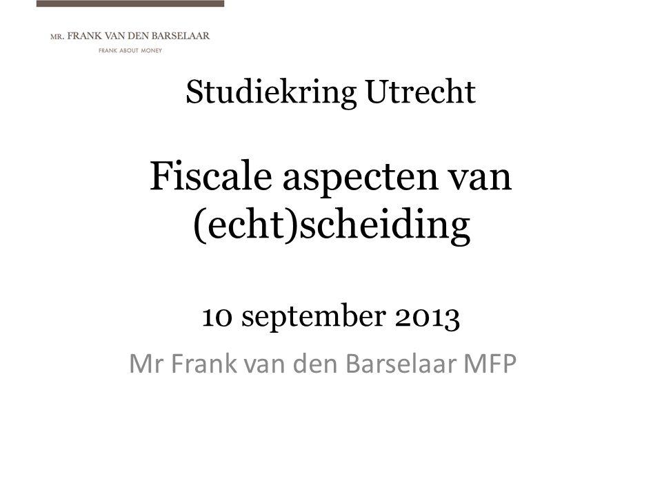 Mr Frank van den Barselaar MFP