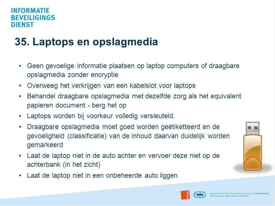 35. Laptops en opslagmedia