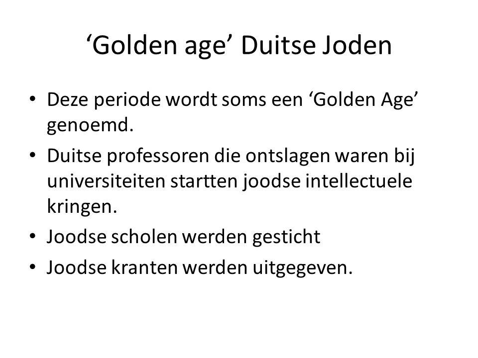 'Golden age' Duitse Joden