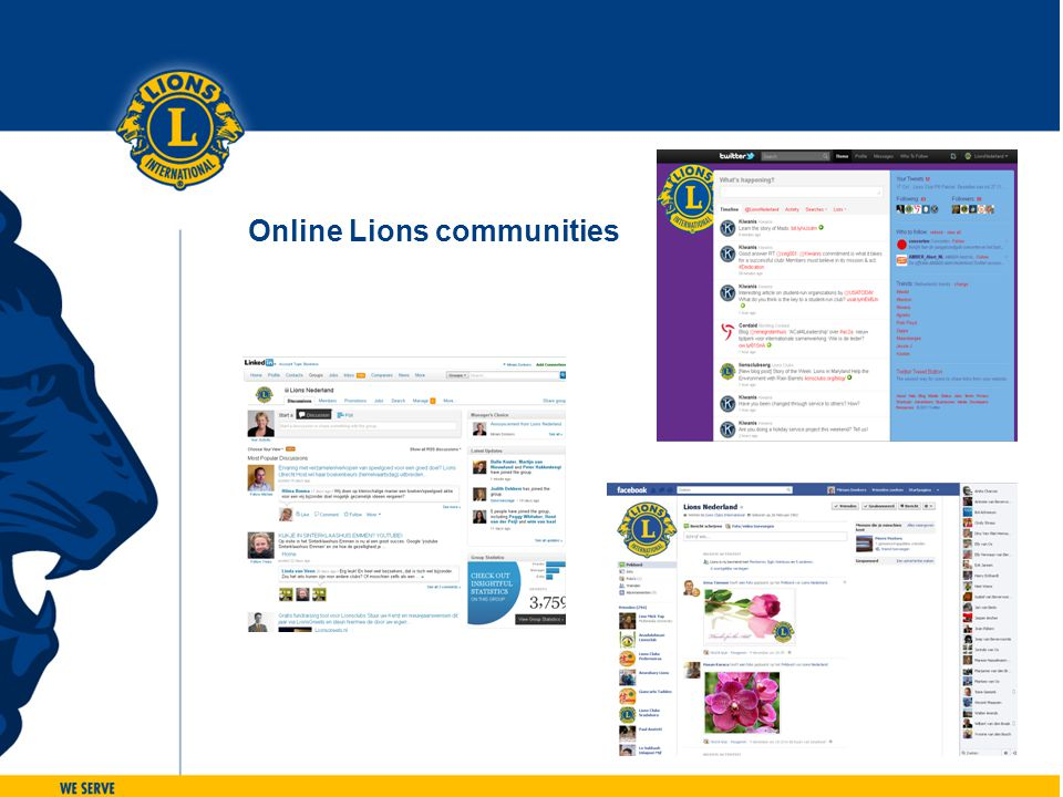 Online Lions communities