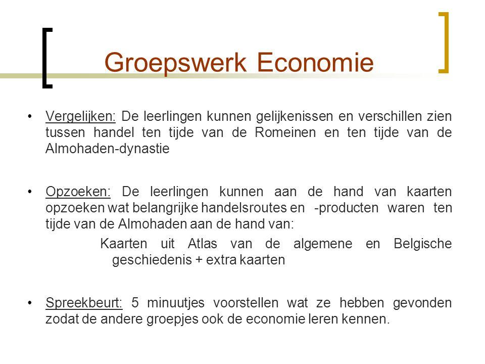 Groepswerk Economie