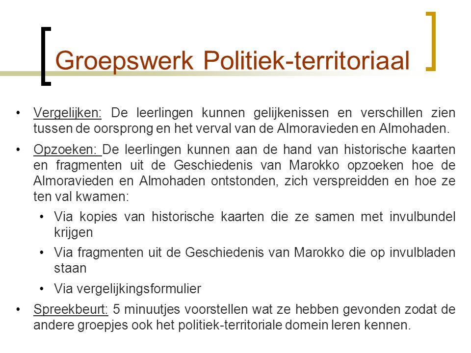 Groepswerk Politiek-territoriaal