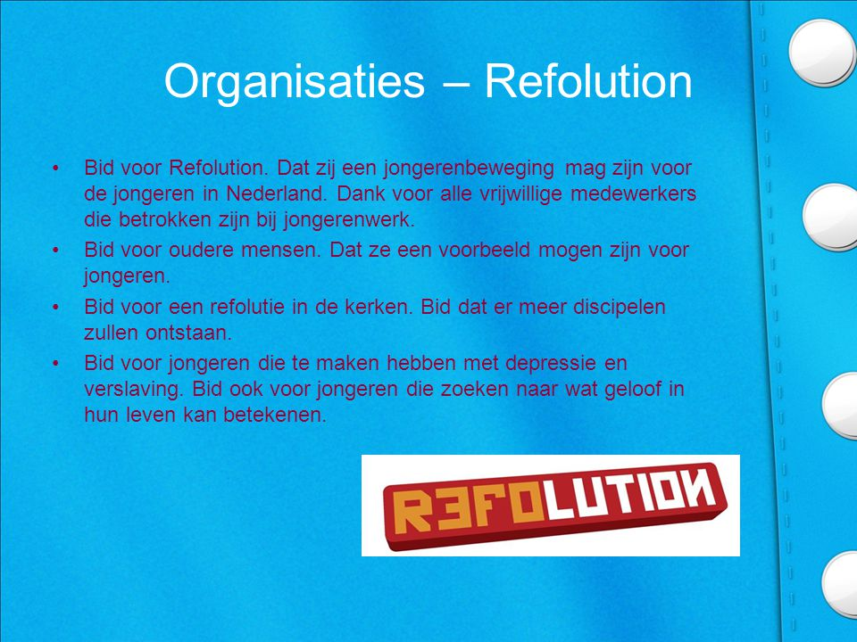Organisaties – Refolution