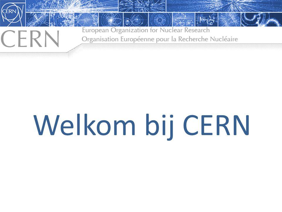 Welkom bij CERN