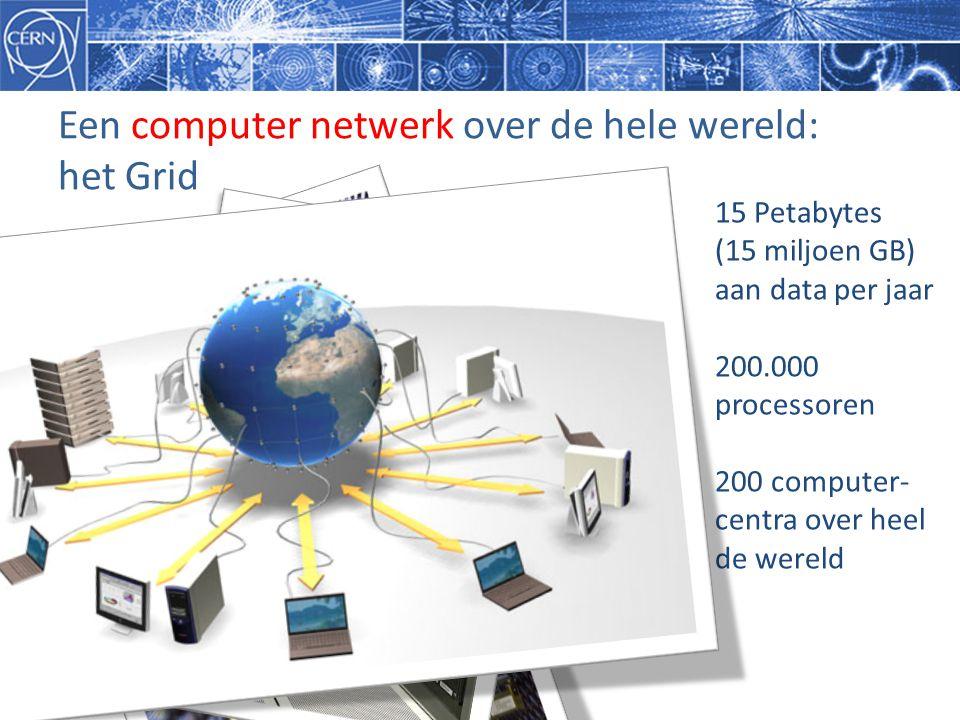 Een computer netwerk over de hele wereld: het Grid