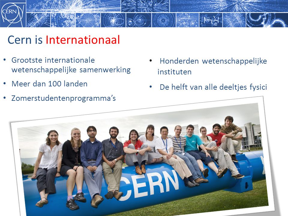 Cern is Internationaal