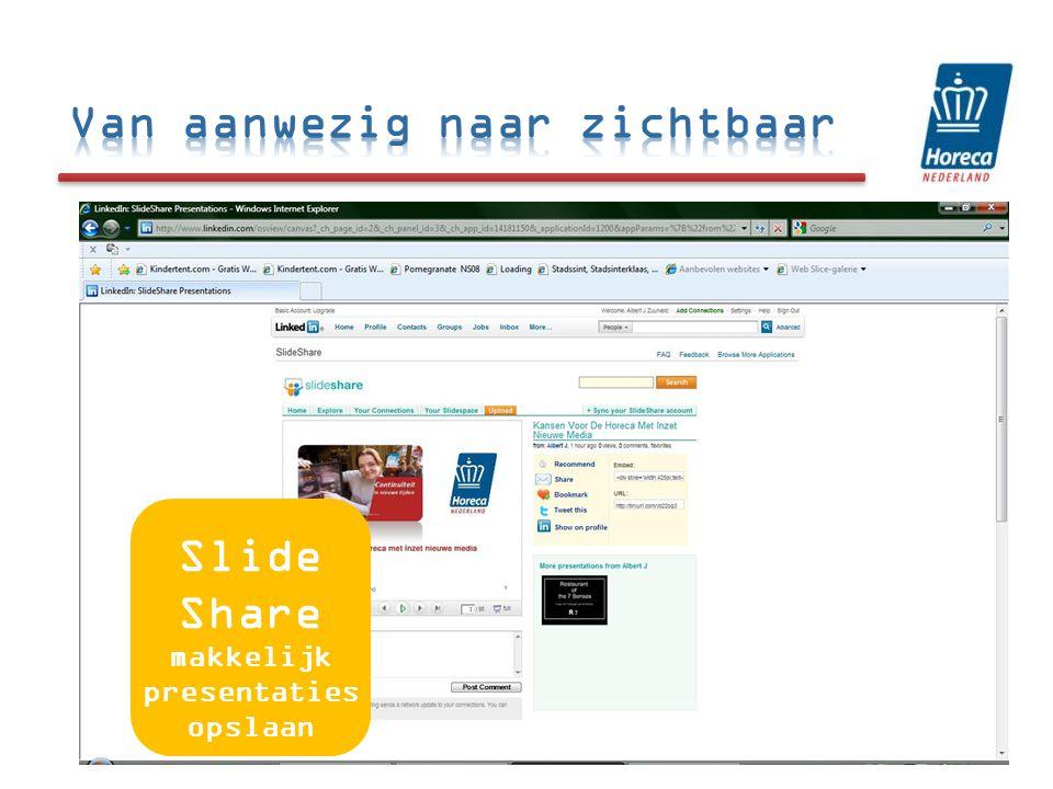 Slide Share makkelijk presentaties opslaan