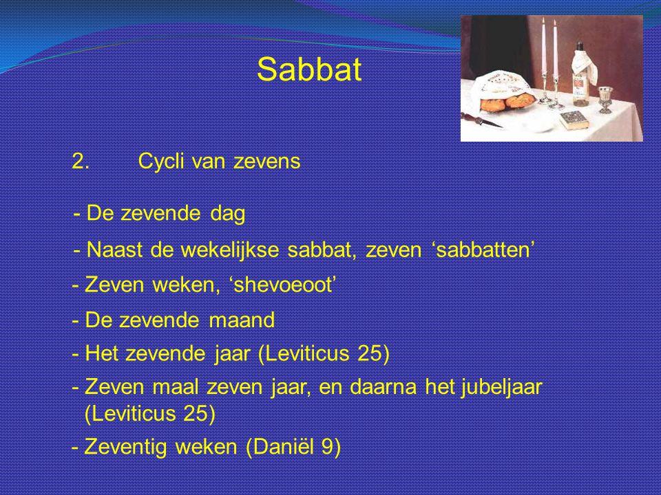 Sabbat 2. Cycli van zevens - De zevende dag