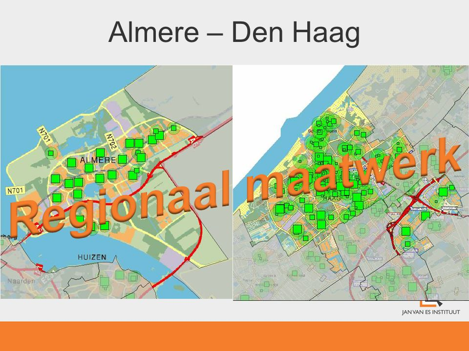 Regionaal maatwerk Almere – Den Haag 4.2 Zorgaanbod: Huisartsen