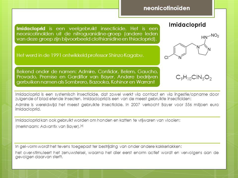 neonicotinoïden Imidacloprid