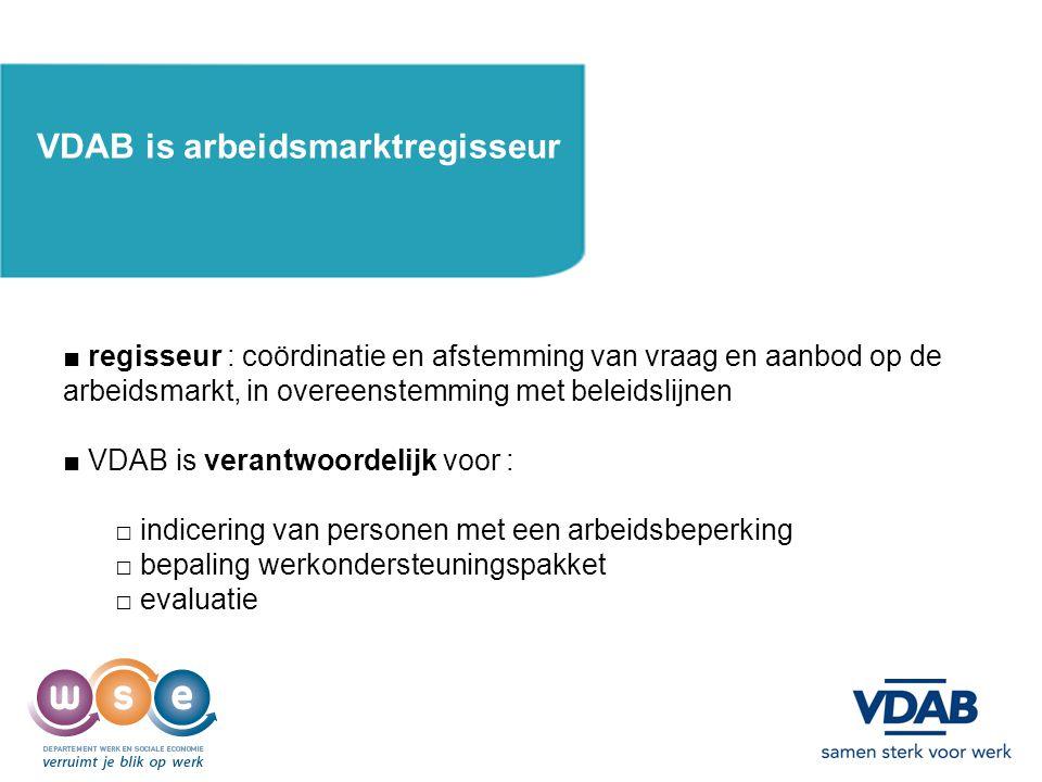 VDAB is arbeidsmarktregisseur