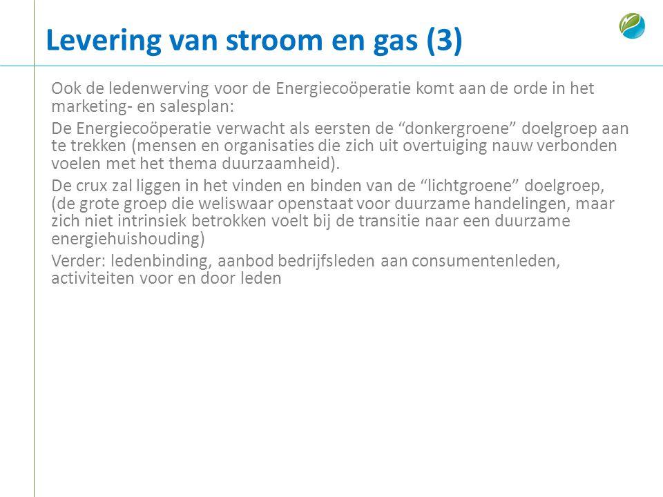 Levering van stroom en gas (3)