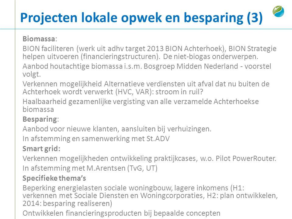 Projecten lokale opwek en besparing (3)